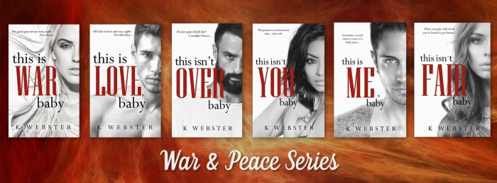 War & Peace series banner 6 books